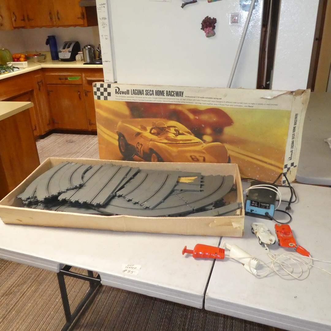 Lot # 85 - Vintage Revell Laguna Seca Home Raceway - Not Tested (main image)