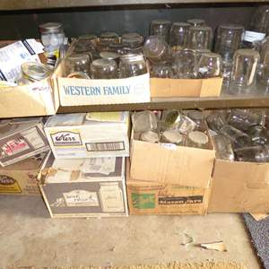 Lot # 245 - Assorted Canning Jars