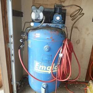 Lot # 248 - Emglo Air Compressor 110 Volt
