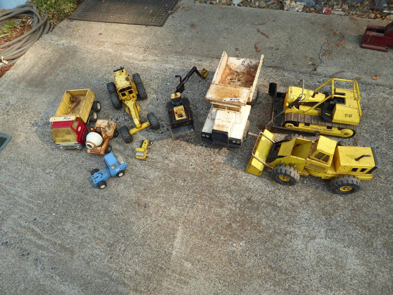 Lot # 249 - Assortment of Vintage Tonka Toys (main image)