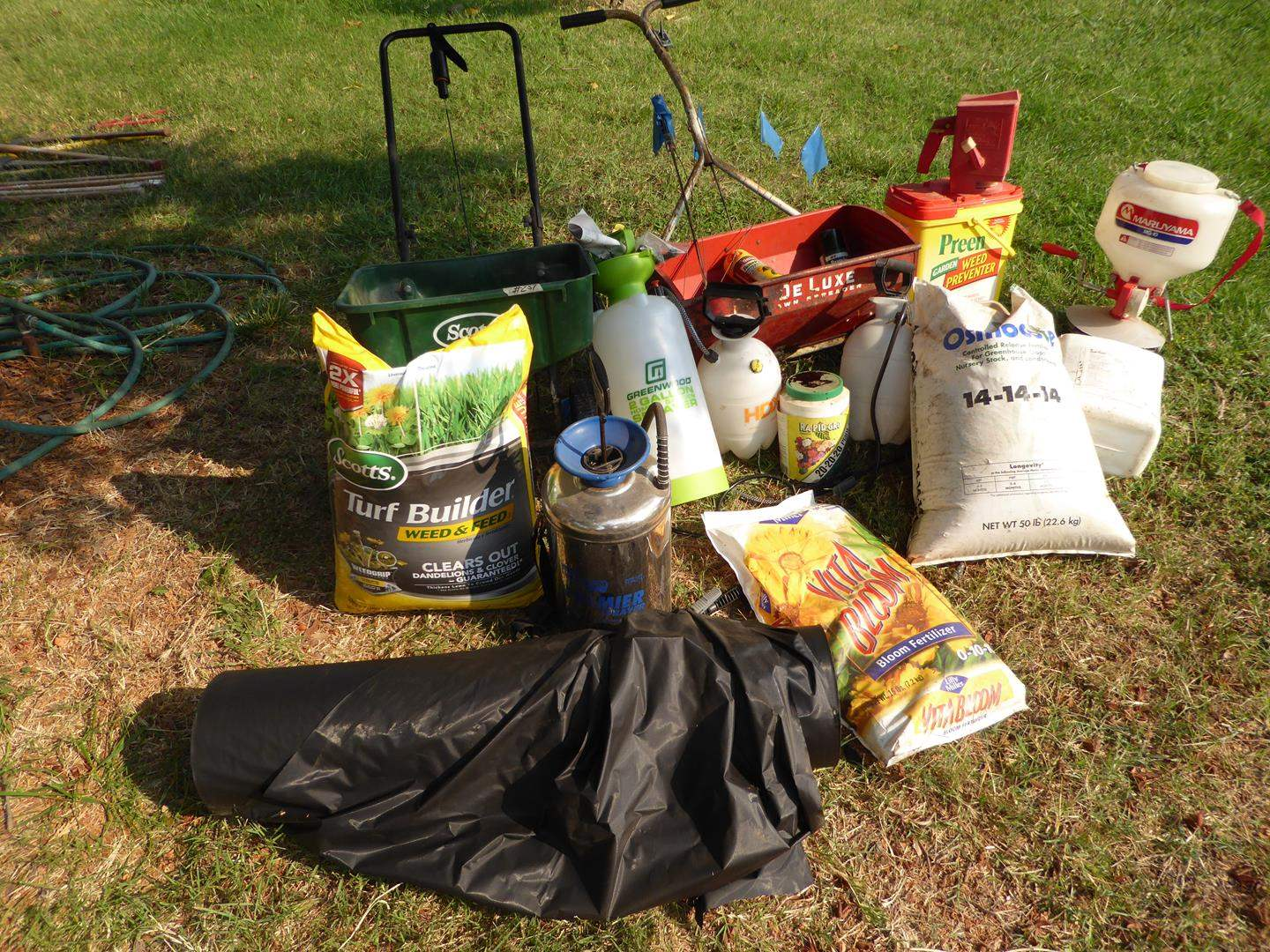Lot # 257 - Yard & Garden Care Products & Supplies (main image)