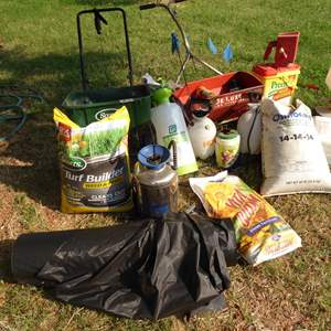Lot # 257 - Yard & Garden Care Products & Supplies
