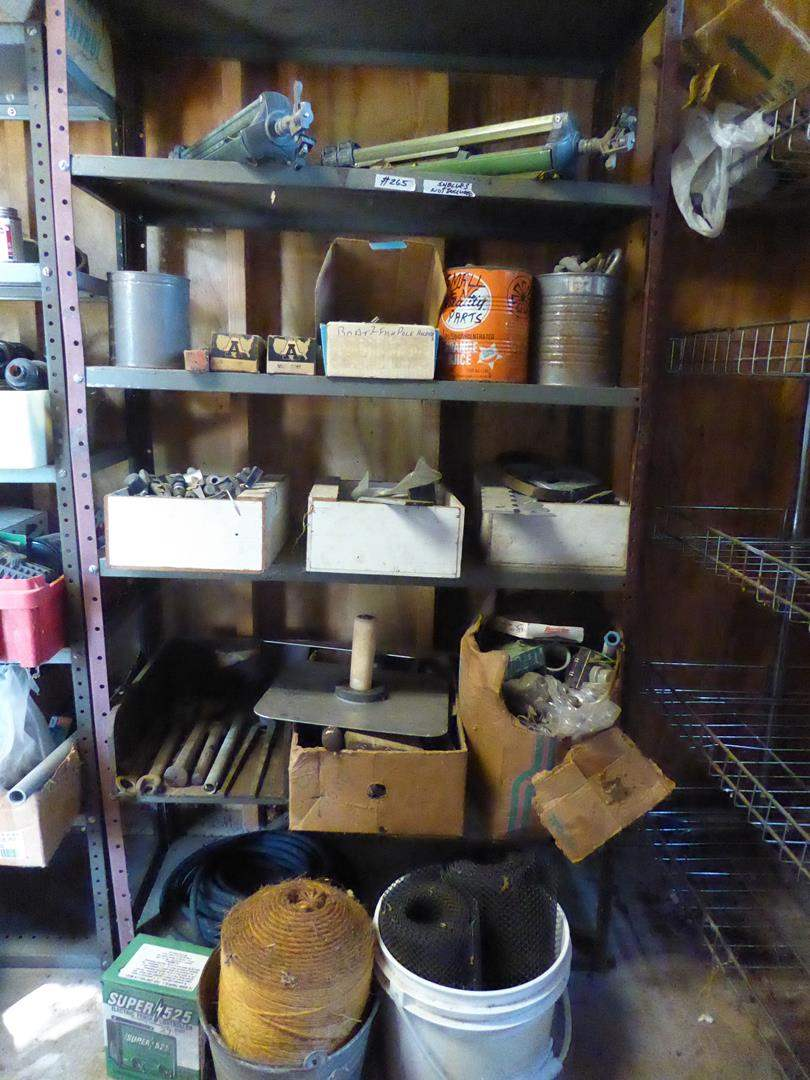 Lot # 265 - Misc. Hardware Lot - Shelf Not Included (main image)