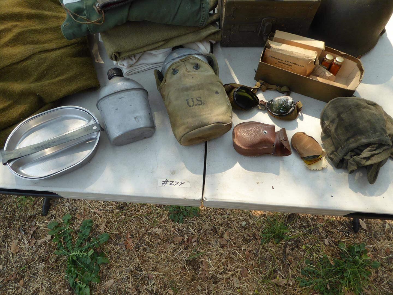 Lot # 274 - Vintage U.S. Military Lot (main image)