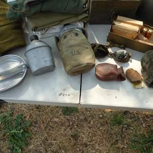 Lot # 274 - Vintage U.S. Military Lot