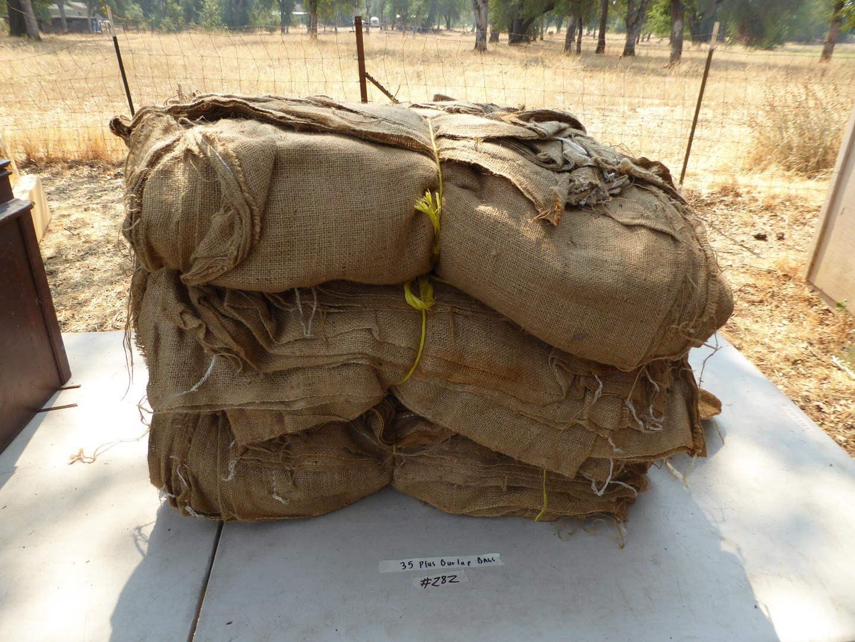 Lot # 282 - 35+ Burlap Bags (main image)