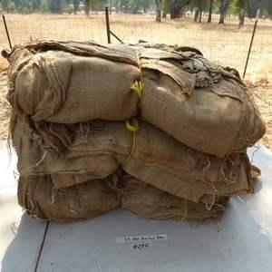 Lot # 282 - 35+ Burlap Bags