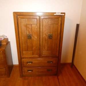 Lot # 2 -  Armoire Style Dresser