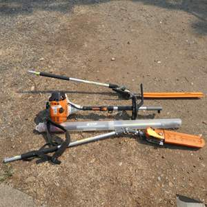 Lot # 202 - Stihl Hedge Trimmer & Pruning Saw