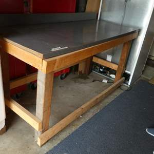 Lot # 215 - Homemade Work Table