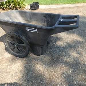 Lot # 227 -  Large Rubbermaid Wheel Barrel