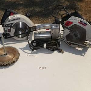 Lot # 228 - Craftsman Saws