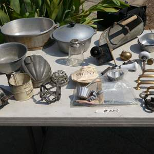 Lot # 230 - Vintage Kitchen Wares And Hardware