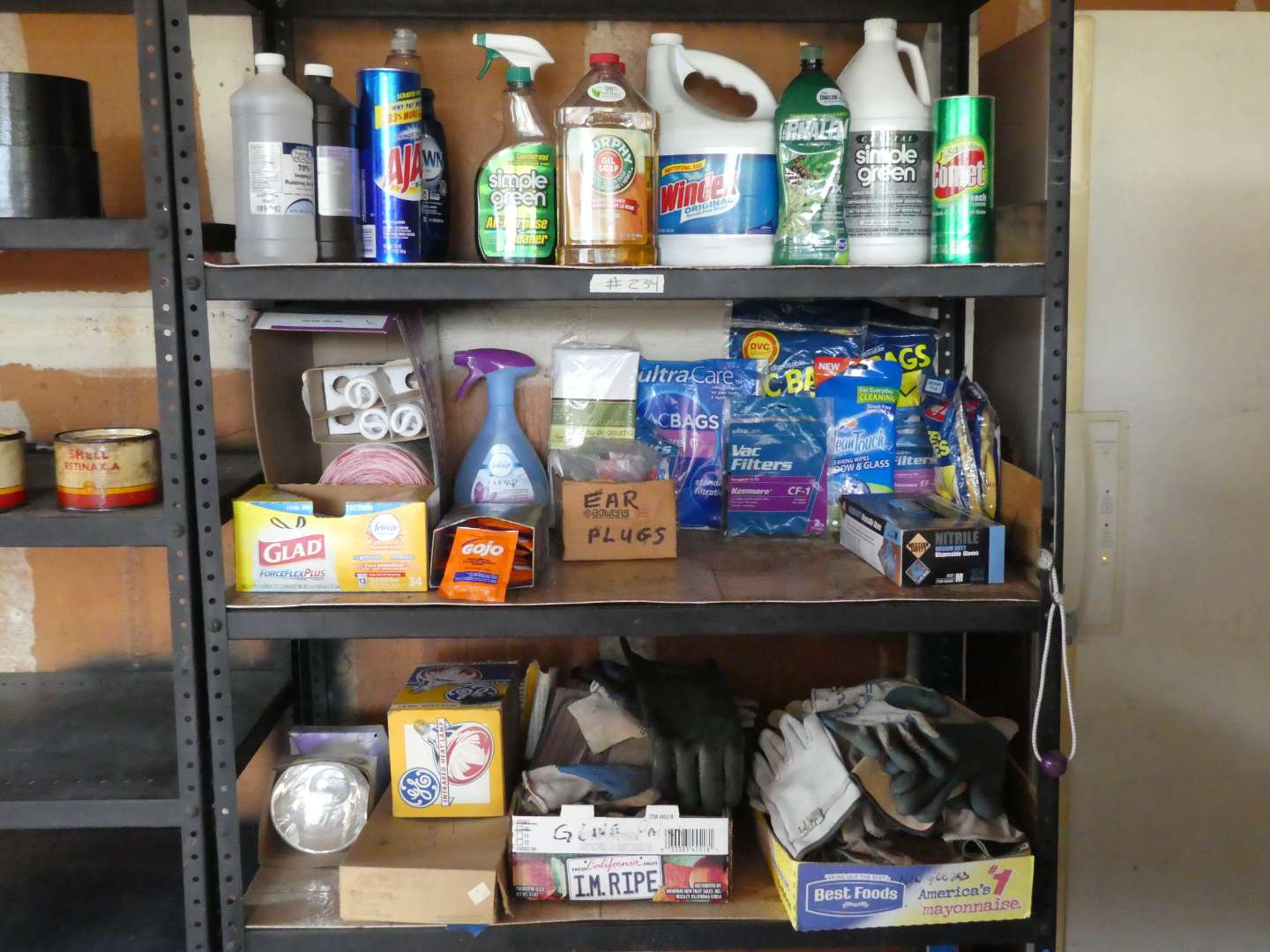 Lot # 234 - Various Household Cleaning Supplies (main image)