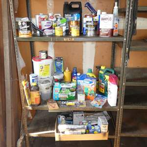 Lot # 236 - Household Chemicals, Stains, Lightbulbs
