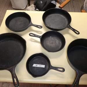 Lot # 15 - Cast Iron Pans