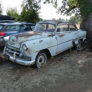 """Lot # 98 -  1953 Chevy """"Bel Air"""" 2 Door Coupe - Watch Video"""