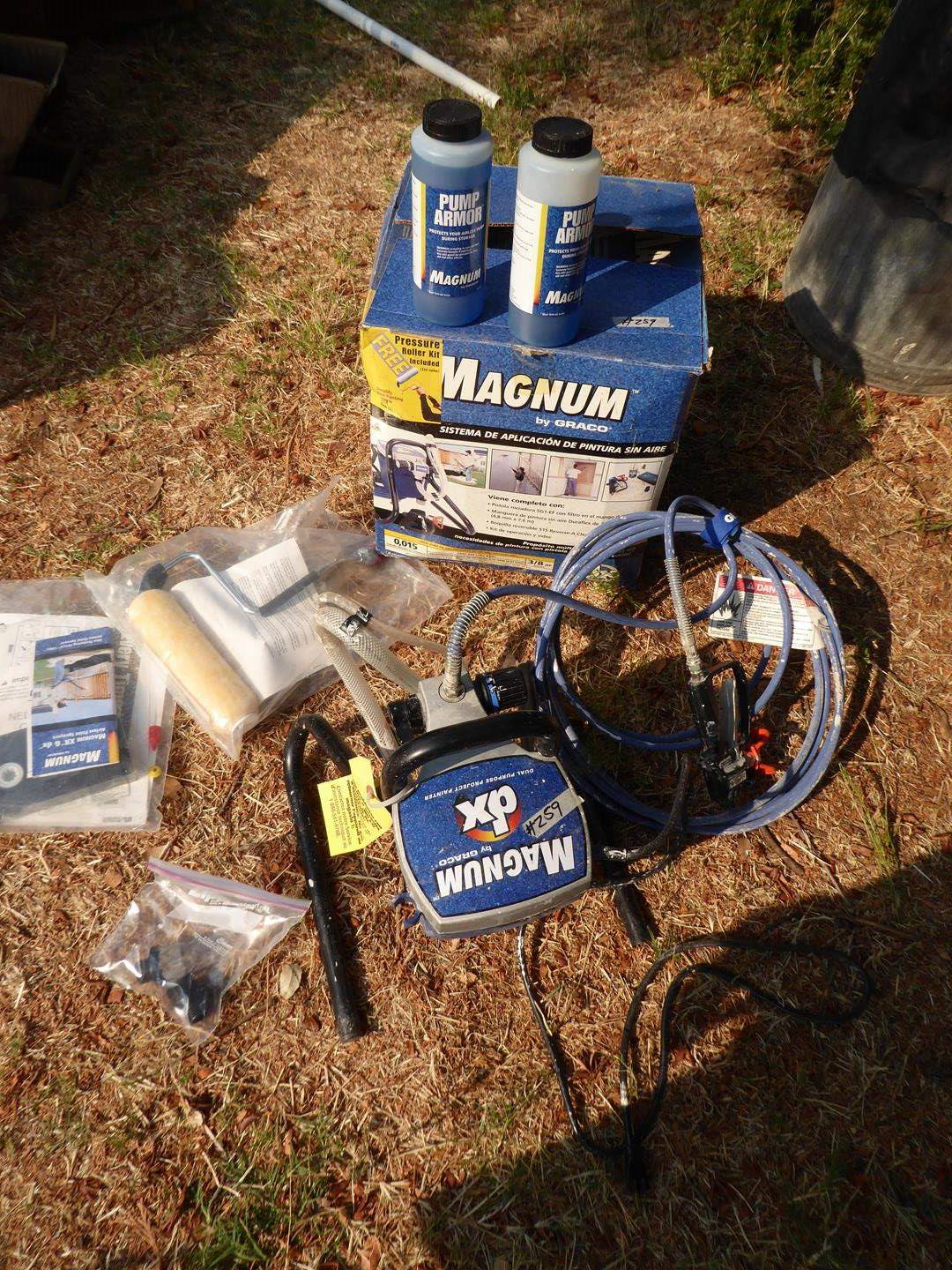 Lot # 259 - Graco Magnum dx Airless Paint Application System (main image)