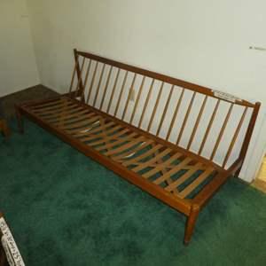 Lot # 150 - Lot # 153 - Danish Mid Century Modern Armless Sofa - Made in Sweden