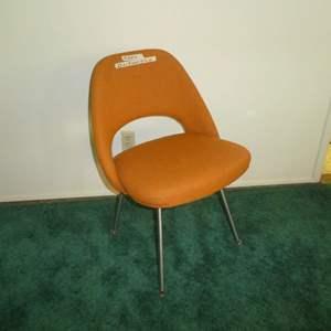 Lot # 158 - Vintage Orange Eero Saarinen Executive Chair Knoll Associates Inc.