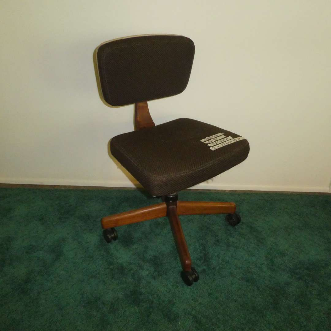 Lot # 162 - Vintage Mid Century Office Chair  (main image)