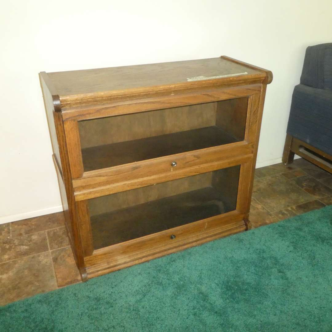 Lot # 167 -  Vintage  Barrister Lawyers Bookcase (main image)