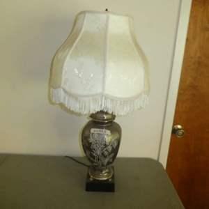 Lot # 178 - Beautiful Lamp w/ Ornate Design