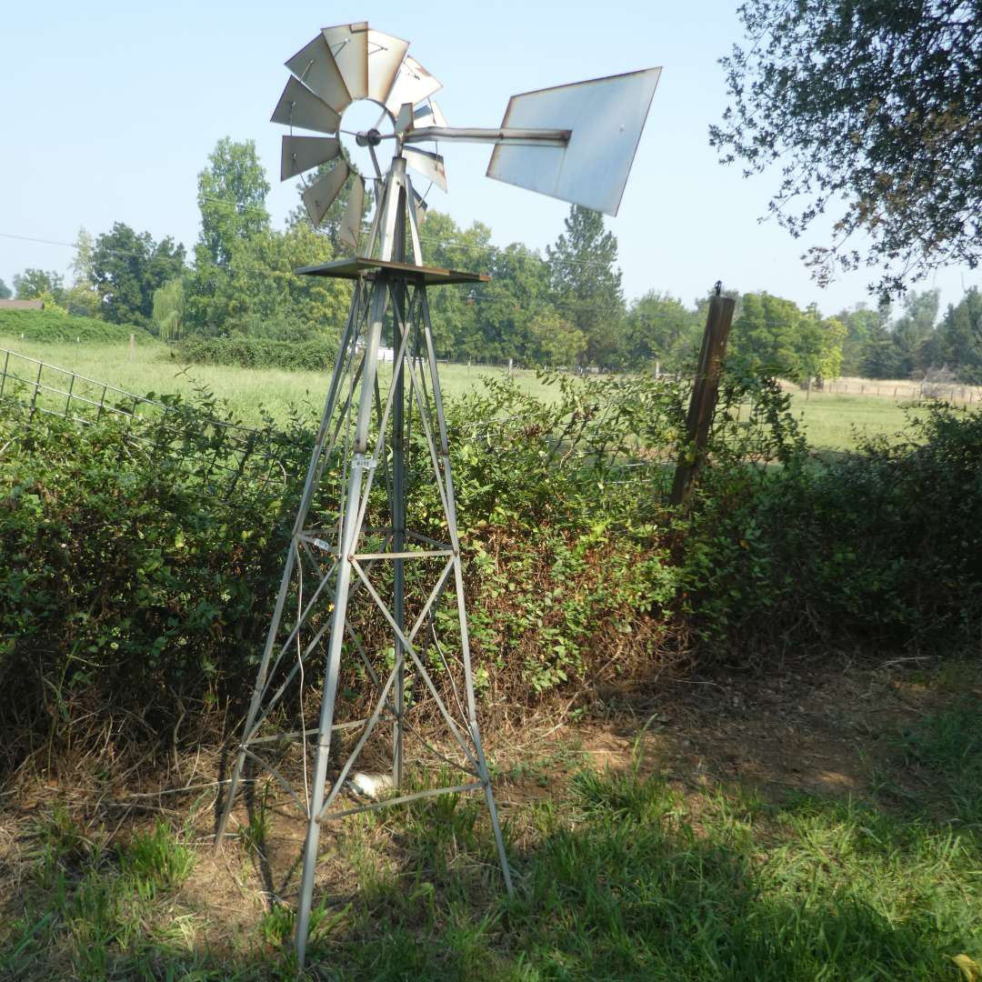 "Lot # 139 - 7' 10"" Ornamental Garden Windmill (main image)"