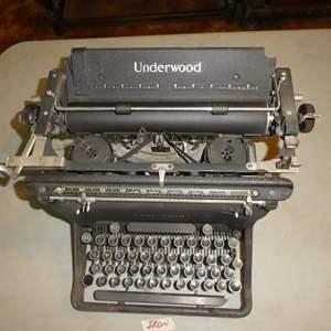 Lot # 63 - Vintage/Antique Underwood Typewriter