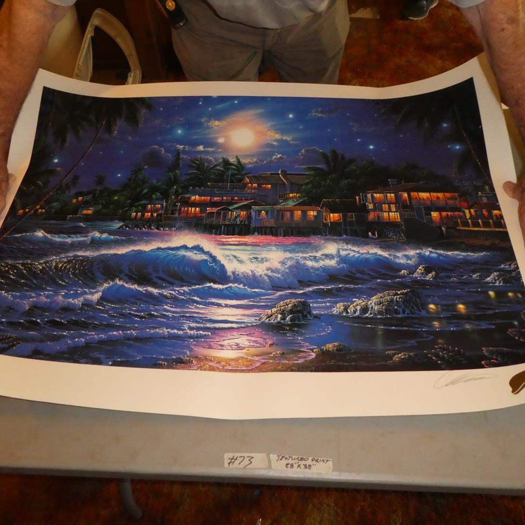 """Lot # 73 - """"Lahaina Starlight"""" Signed Numbered Limited Edition Print by Christian Riese Lassen AP 82/150 (main image)"""