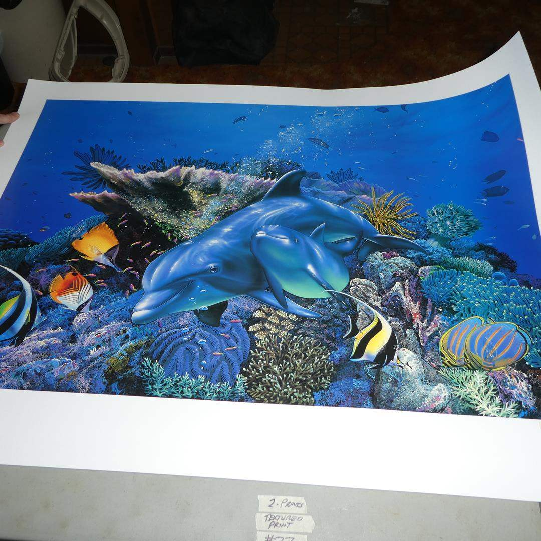 Lot # 77 - Two Signed Numbered Marine Prints by Christian Reese Lassen (main image)