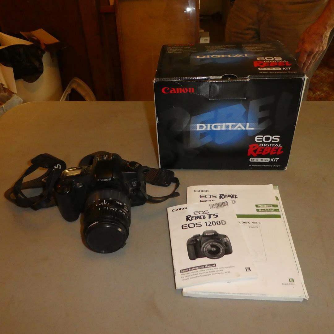 Lot # 81 - Canon EOS Rebel Digital Camera (Needs Batteries) (main image)