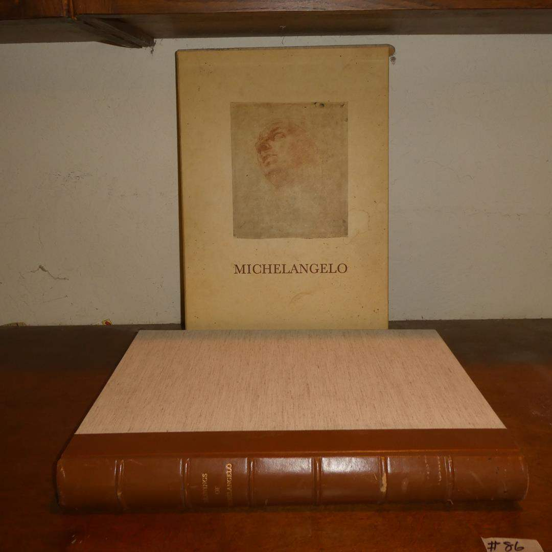Lot # 86 - Drawings of Michelangelo One Hundred and Three Facsimiles Book - Made in Italy (main image)