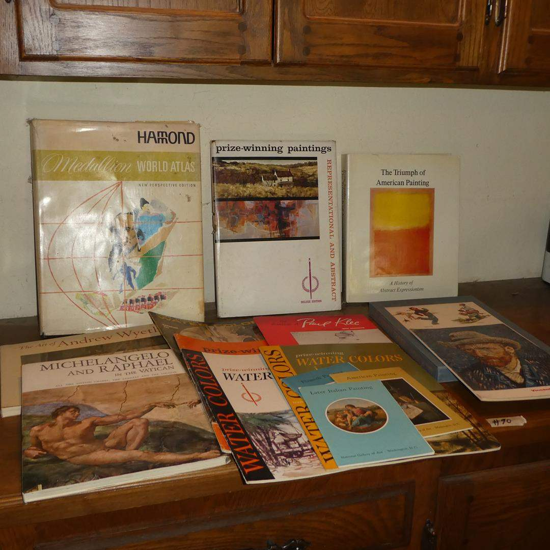 Lot # 90 - Assorted Famous Artists Books (main image)