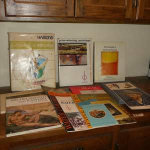 Lot # 90 - Assorted Famous Artists Books