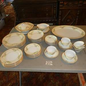 Lot # 110 - 44 Pieces Vintage Hand Painted Meito China Made in Japan