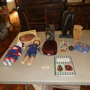Lot # 124 - Netsuke Book, Asian Collectibles & Figurines