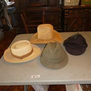 Lot # 131 - Four Vintage Men's Hats