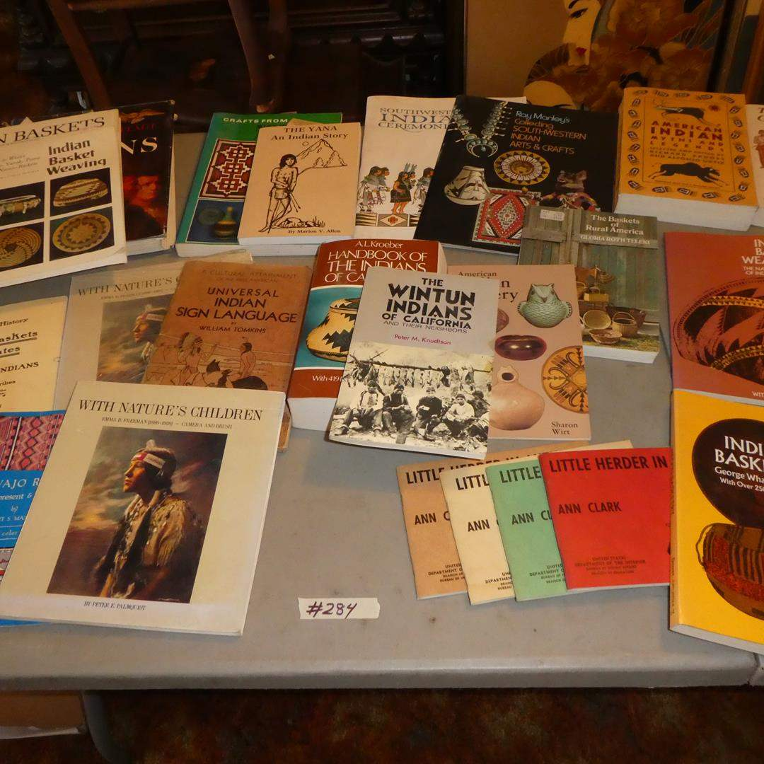 Lot # 284 - Assorted Indian Books Collection (main image)