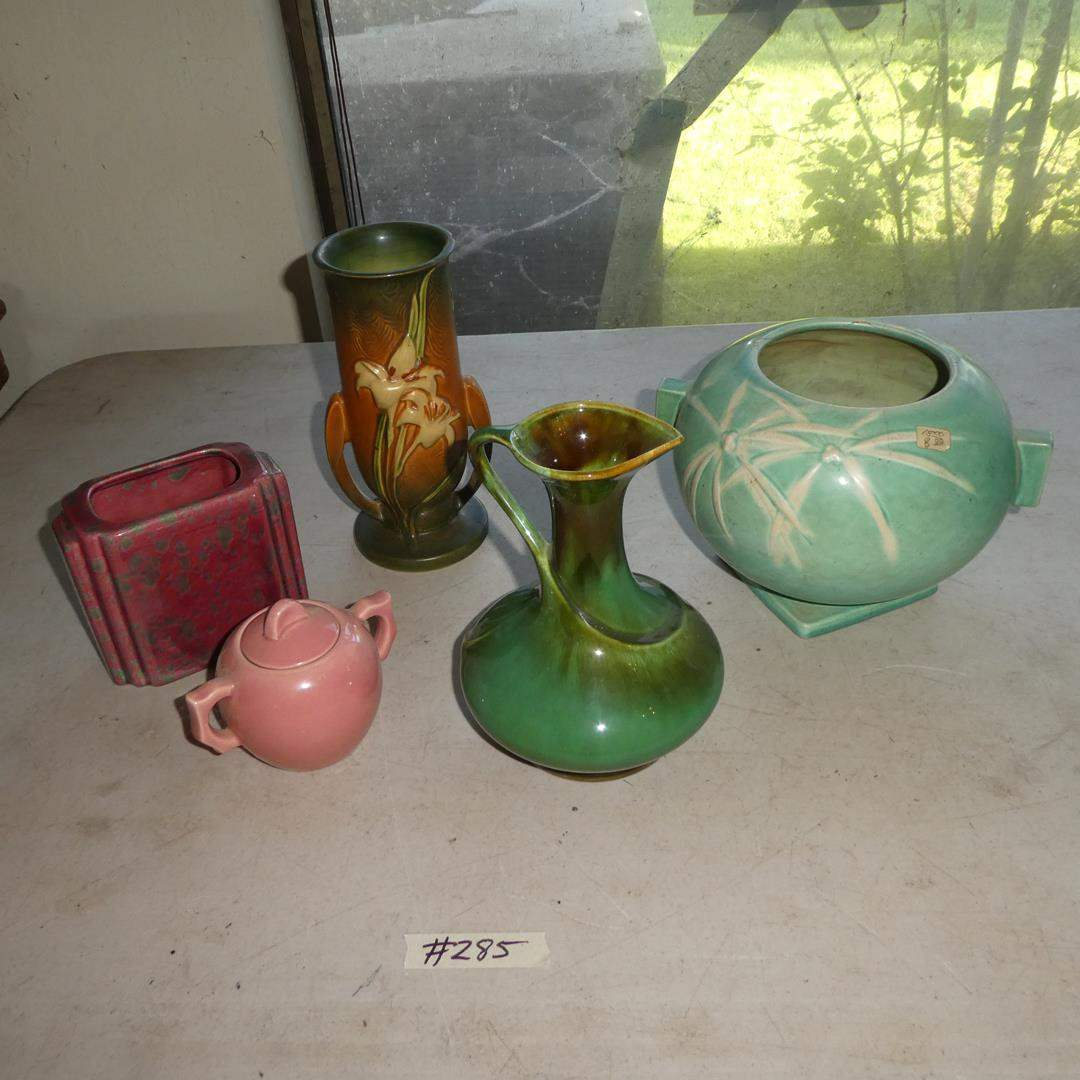 Lot # 285 - Vintage Roseville & California Pottery - See Pics For Condition (main image)