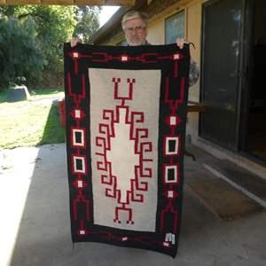 Lot # 286 - Vintage Navajo Rug