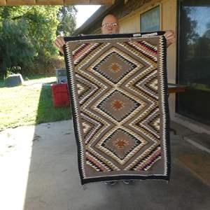 Lot # 288 - Vintage Navajo Rug