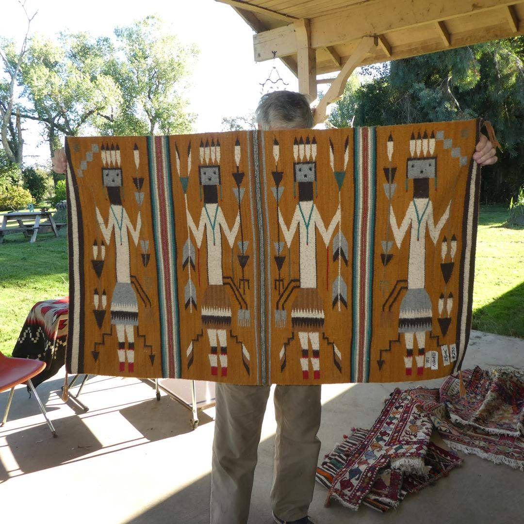 Lot # 290 - Vintage YEI Navajo Rug (main image)
