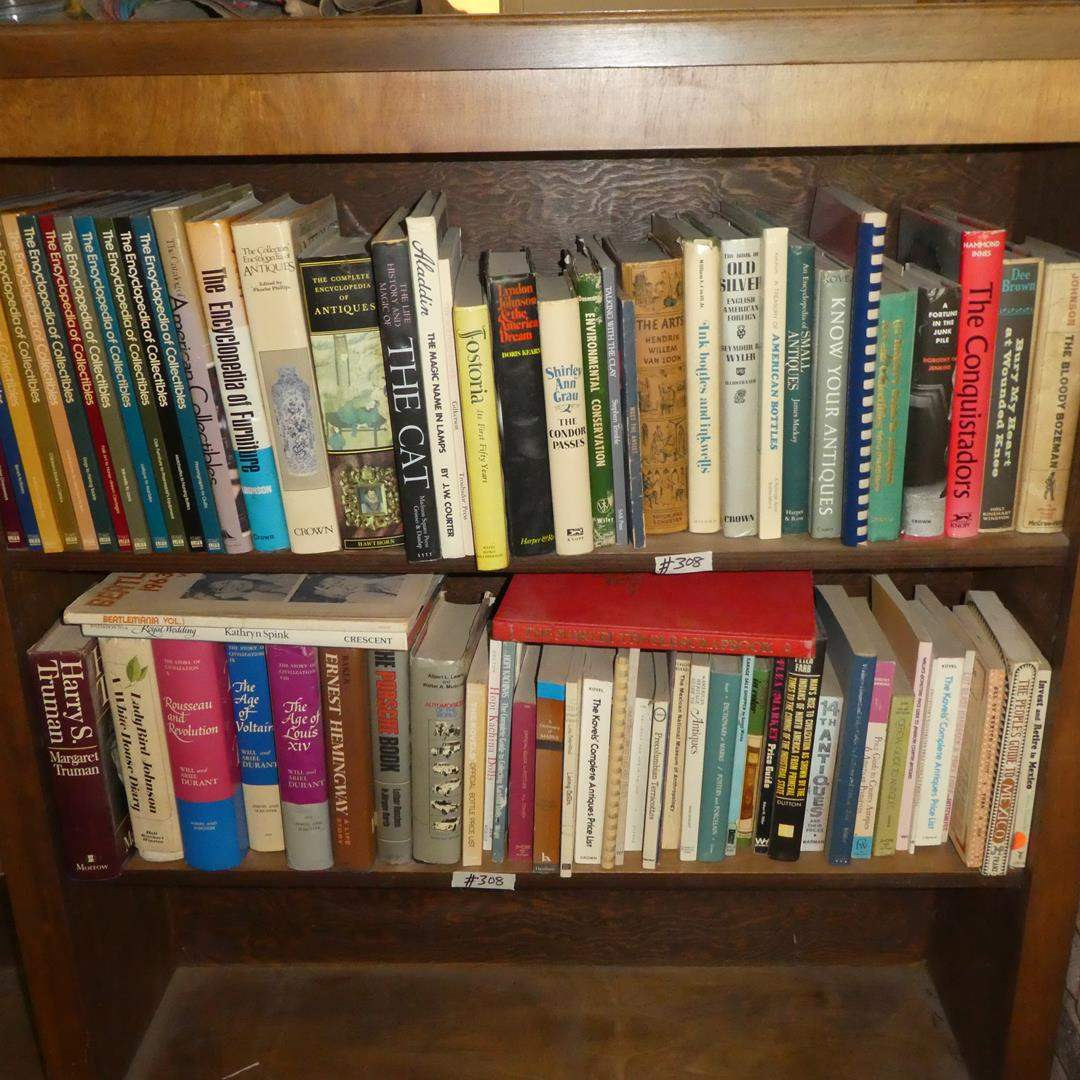 Lot # 308 - Assorted Books Collection (main image)
