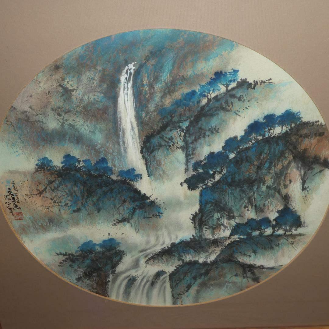 Lot # 310 - Framed Original Chinese Watercolor Painting by Daniel Wang (main image)