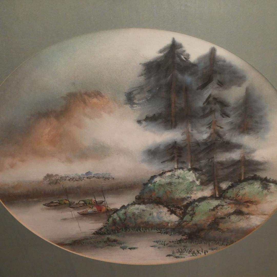 Lot # 311 - Framed Original Chinese Watercolor Painting by Daniel Wang (main image)