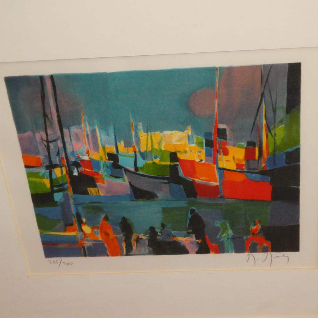 Lot # 312 - Framed Signed Numbered Limited Edition Print by Noily 285/300 (main image)