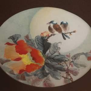 Lot # 321 - Framed Watercolor Painting by Daniel Wang