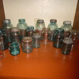 Lot # 1 - Vintage Canning Jars