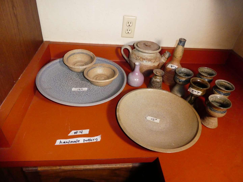 Lot # 4 - Handmade Pottery (main image)